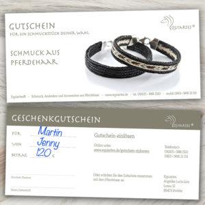 "Gutschein ""Motiv 4: Männerschmuck"""