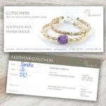 """Gutschein """"Motiv 2: französisch rundgeflochtene Armbänder"""""""