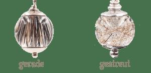 Mögliche Legearten für Gemini II Ohrhänger