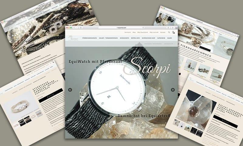 Die neue Website www.equiartes.com